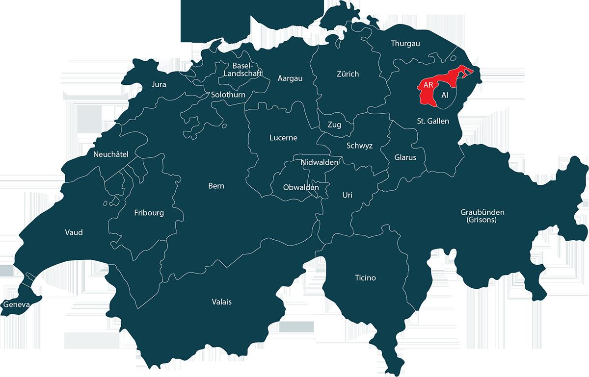 Auto im Kanton Appenzell Ausserrhoden verkaufen