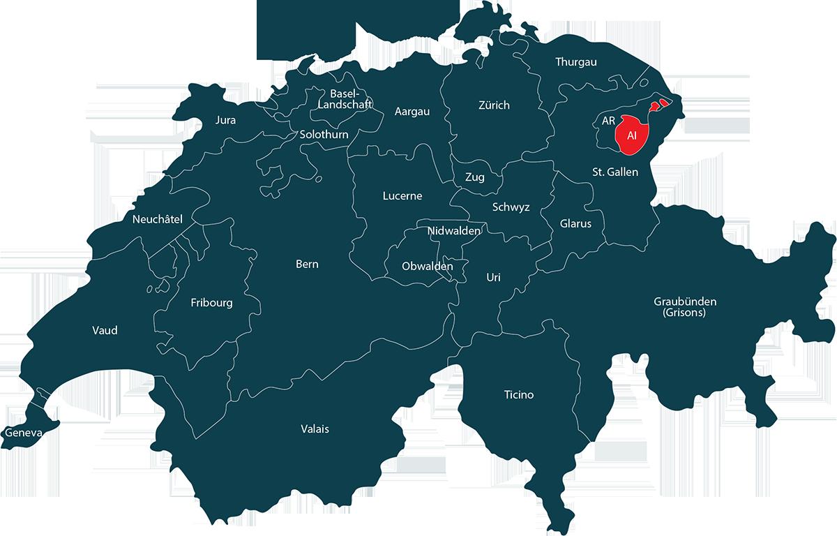Auto im Kanton Appenzell Innerrhoden verkaufen