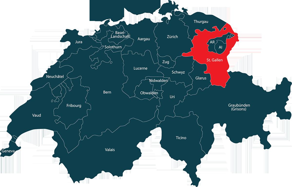 Auto im Kanton Sankt Gallen verkaufen